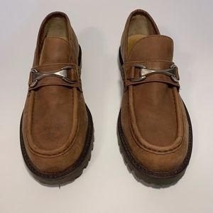 Kenneth Cole Reaction Suede Buckle Loafer Mens 10D